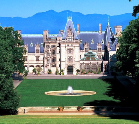 The Biltmore Estate property in North Carolina