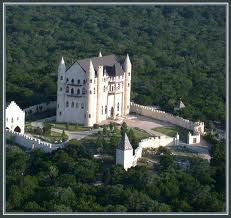 Falkstein castle in Burnett Texas