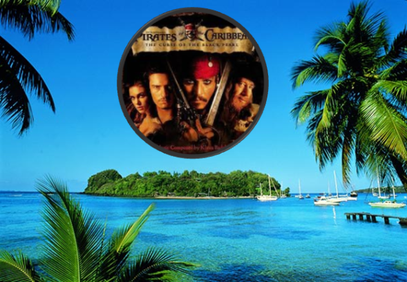 St Vincent island location of Pirates of the Caribbean
