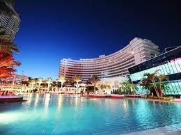 Fountain bleu hotel in Miami
