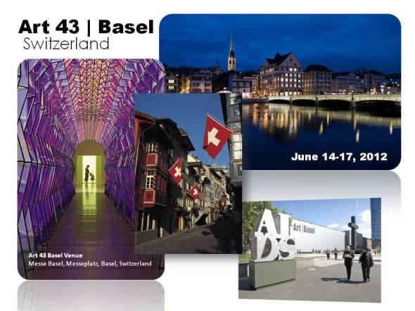 Art 43 Basel in Switzerland